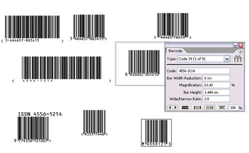 Tạo barcode trong Illustrator với plugin Barcode Toolbox